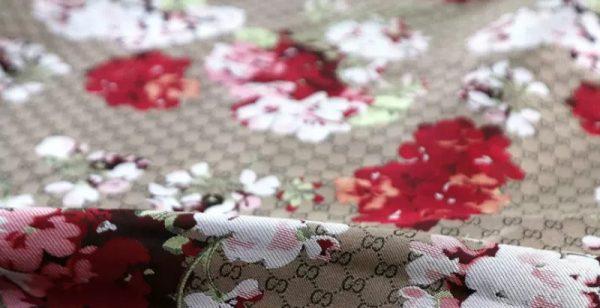 Gucci bloom jacquard fabric