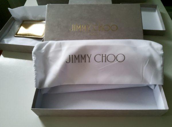 Jimmy Choo Pippa Oslt silver wallet