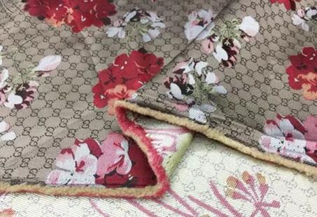 20201019 230801 Gucci bloom jacquard fabric/Italian Designer Fabric/Catwalk Gucci flowers pattern fabric 2