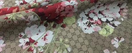 20201019 230820 Gucci bloom jacquard fabric/Italian Designer Fabric/Catwalk Gucci flowers pattern fabric 3