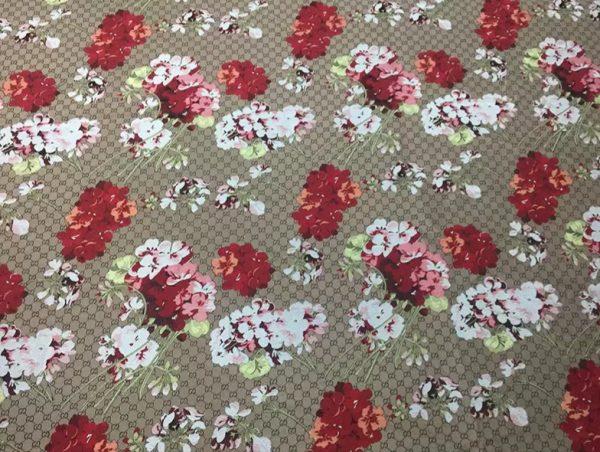 20201019 230953 Gucci bloom jacquard fabric/Italian Designer Fabric/Catwalk Gucci flowers pattern fabric 6