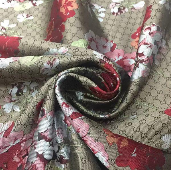 20201019 231006 Gucci bloom jacquard fabric/Italian Designer Fabric/Catwalk Gucci flowers pattern fabric 7