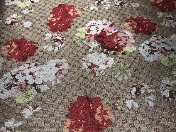 IMG 6150 scaled Gucci bloom jacquard fabric/Italian Designer Fabric/Catwalk Gucci flowers pattern fabric 11