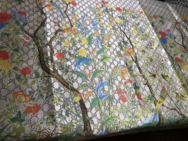 Gucci jacquard Floral pattern fabric/autumn winter fashion week GG jacquard 1 ⋆ Rozitta Rapetti