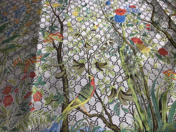 Gucci jacquard Floral pattern fabric/autumn winter fashion week GG jacquard 2 ⋆ Rozitta Rapetti