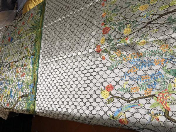 Gucci jacquard Floral pattern fabric/autumn winter fashion week GG jacquard 3 ⋆ Rozitta Rapetti