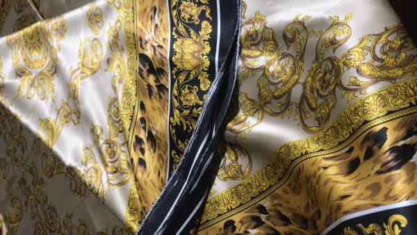 Versace Silk Fabric,2021 Versace collection