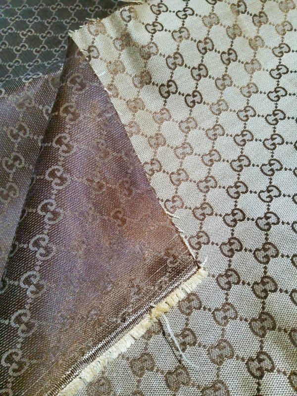1 из 2 110 Gucci Fabric Trench Jacquard