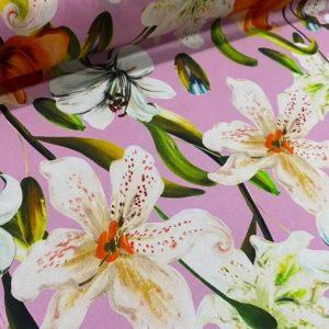 Italian Couture Silk fabric