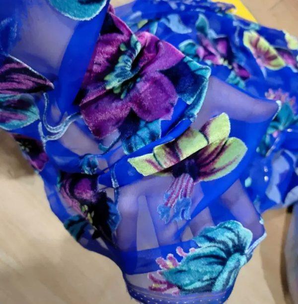Emanuel Ungaro Silk Velvet