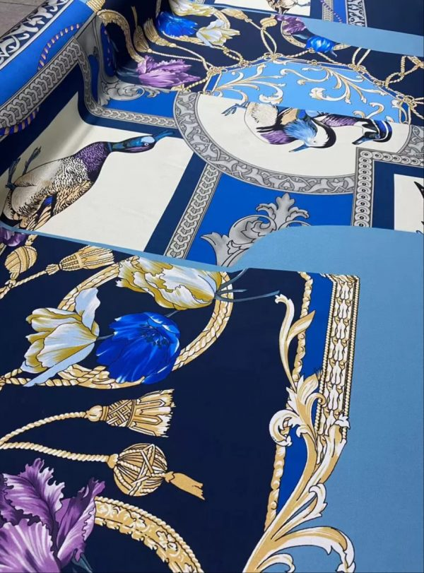 Salvatore Ferragamo Duck Pattern fabric
