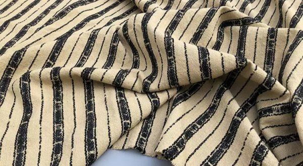 Dior fabric 2020 fashion week Woolen linen sequin fabric