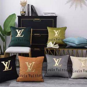 Pillow case LV velvet