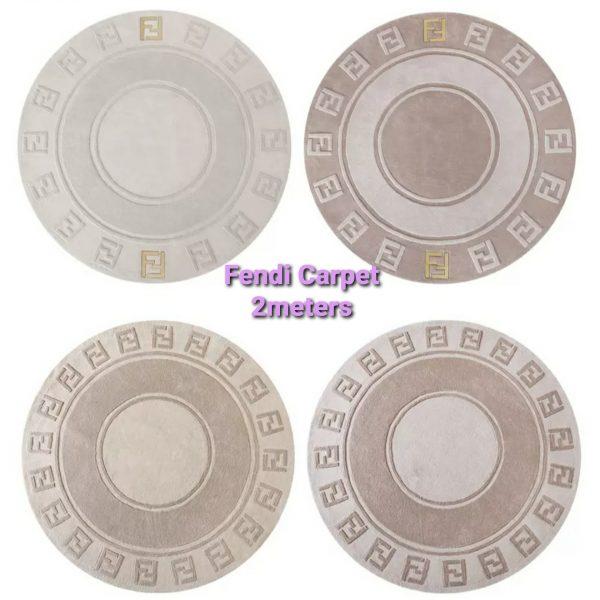 20201005 005156 Fendi Carpet/Luxury Fendi wool Carpet in various shape,colours,size 2 meters 2