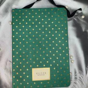 Gucci Notebook/Gucci diary/Gucci Note