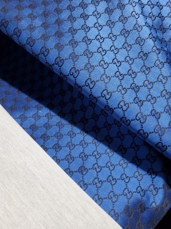 Gucci Jacquard Royal Blue fabric