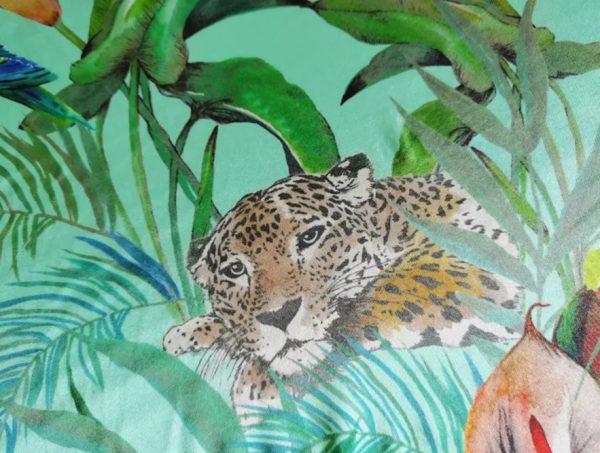 Jungle leopard pattern