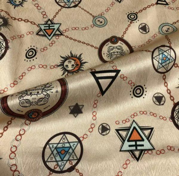 Exclusive Italian Silk Fabric