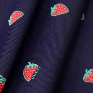 Gucci Strawberry pattern
