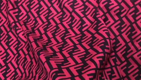 Fendi stretch cotton fabric