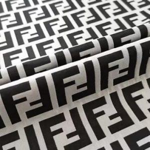 Fendi Fabric Brocade jacquard polyester/ 3D Fendi Jacquard suitable for clothing