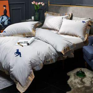 Italian branded Cotton bed lining set