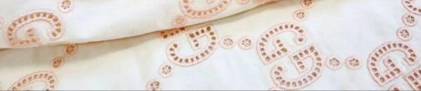 Gucci Cotton Embroidery Fabric