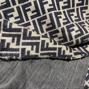 Fendi jersey Fashion fabric/Fendi stretch cotton fabric/Italian couture fabric