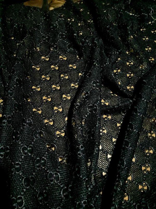Gucci Silk Embroidery Cotton base Lace