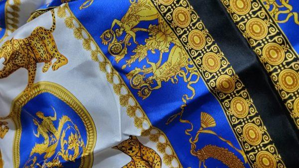 Versace Silk Twill Myphology Theme