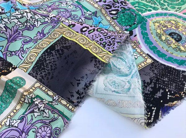 20201128 144056 Versace Silk Satin 2021 Collection/Versace Snake skin pattern New Collection Silk/Versace Shirt fabric 3