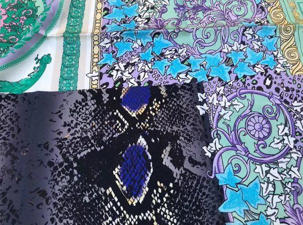 20201128 144111 Versace Silk Satin 2021 Collection/Versace Snake skin pattern New Collection Silk/Versace Shirt fabric 4