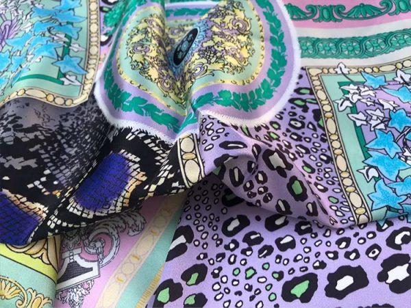 20201128 144147 Versace Silk Satin 2021 Collection/Versace Snake skin pattern New Collection Silk/Versace Shirt fabric 6