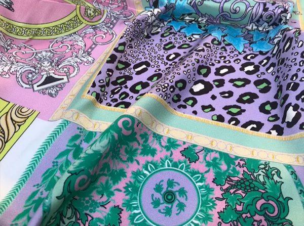 20201128 144200 Versace Silk Satin 2021 Collection/Versace Snake skin pattern New Collection Silk/Versace Shirt fabric 7