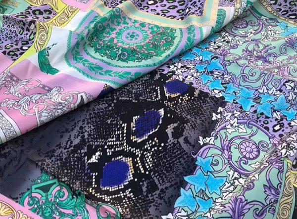 20201128 144210 Versace Silk Satin 2021 Collection/Versace Snake skin pattern New Collection Silk/Versace Shirt fabric 8