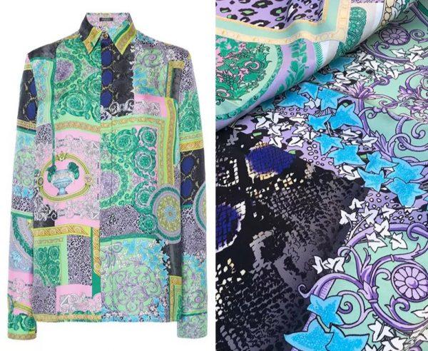 20201128 144222 Versace Silk Satin 2021 Collection/Versace Snake skin pattern New Collection Silk/Versace Shirt fabric 9
