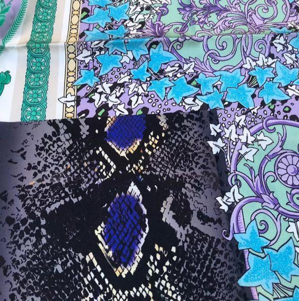 20201128 144308 Versace Silk Satin 2021 Collection/Versace Snake skin pattern New Collection Silk/Versace Shirt fabric 10