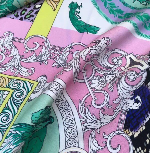 20201128 144340 Versace Silk Satin 2021 Collection/Versace Snake skin pattern New Collection Silk/Versace Shirt fabric 12