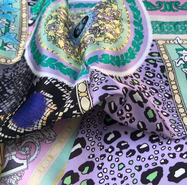 20201128 144412 Versace Silk Satin 2021 Collection/Versace Snake skin pattern New Collection Silk/Versace Shirt fabric 13