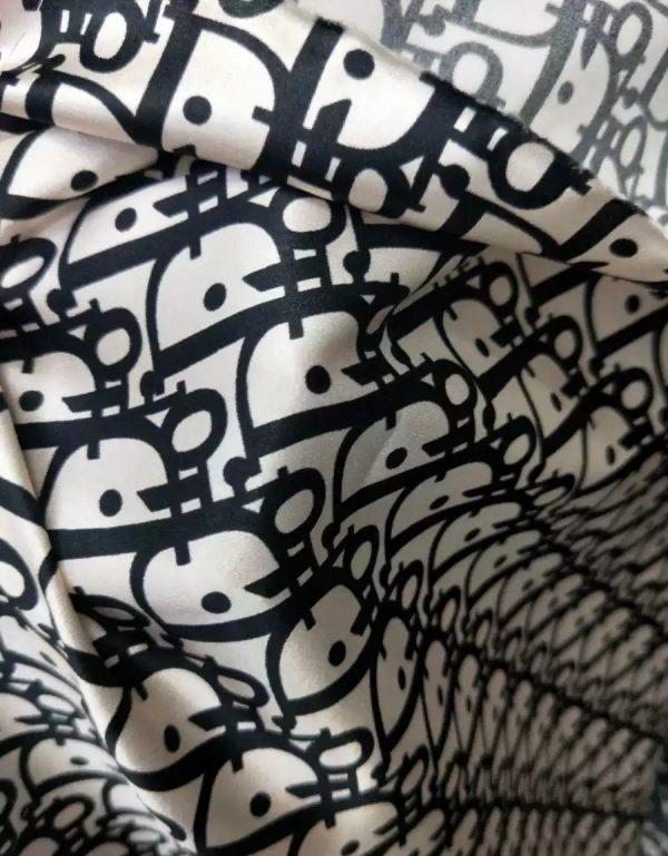 Dior Silk Satin Fabric