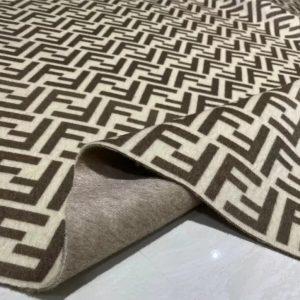 Fendi Cashmere Fabric/2021 Fashion week Fendi Fabric for Poncho,Coat,Jacket