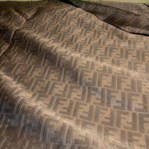 Fendi 2020 Jacquard fabric/Fendi brocade fabric/Fendi jacquard cotton polyester