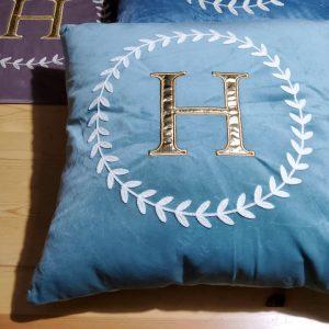 French Designer Velvet Pillow Case
