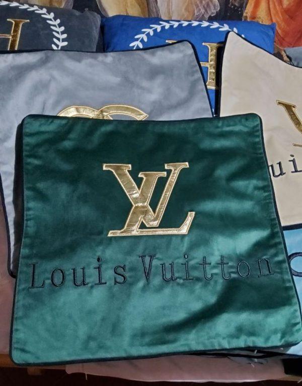 French Designer Velvet Pillow