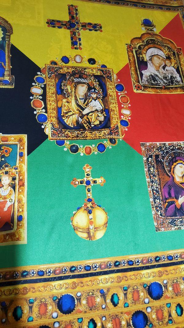 Silk Madonna Pattern