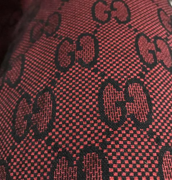 Gucci Knitted Cotton Fabric