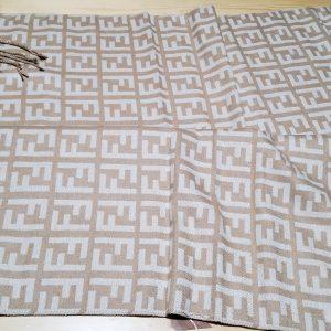 FENDI cashmere silk Scarf