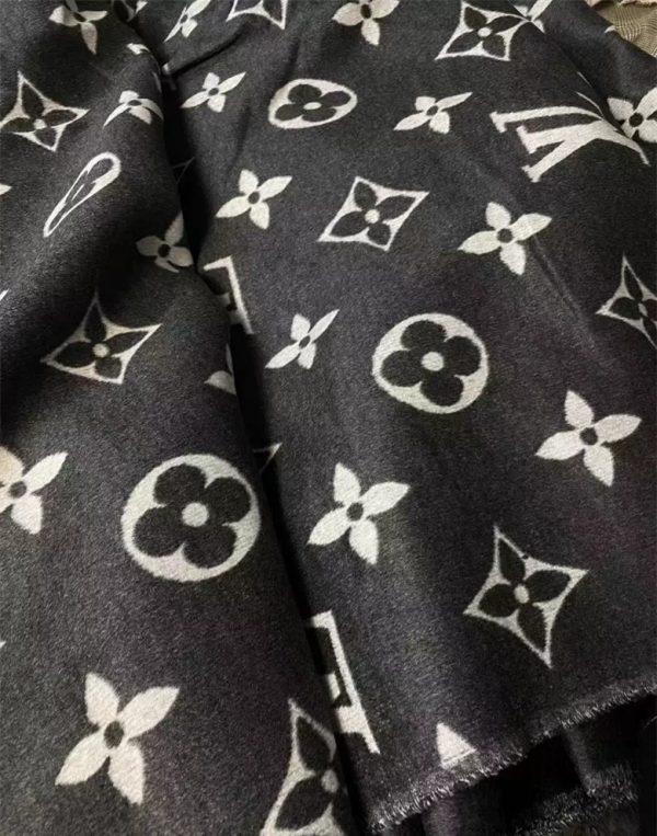 Louis Vuitton colour Cashmere Wool Fabric