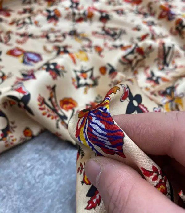 Louis Vuitton Floral Design Fabric