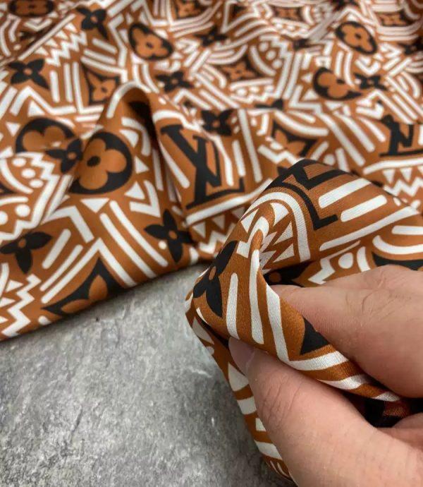 Louis Vuitton Classic Pattern Silk